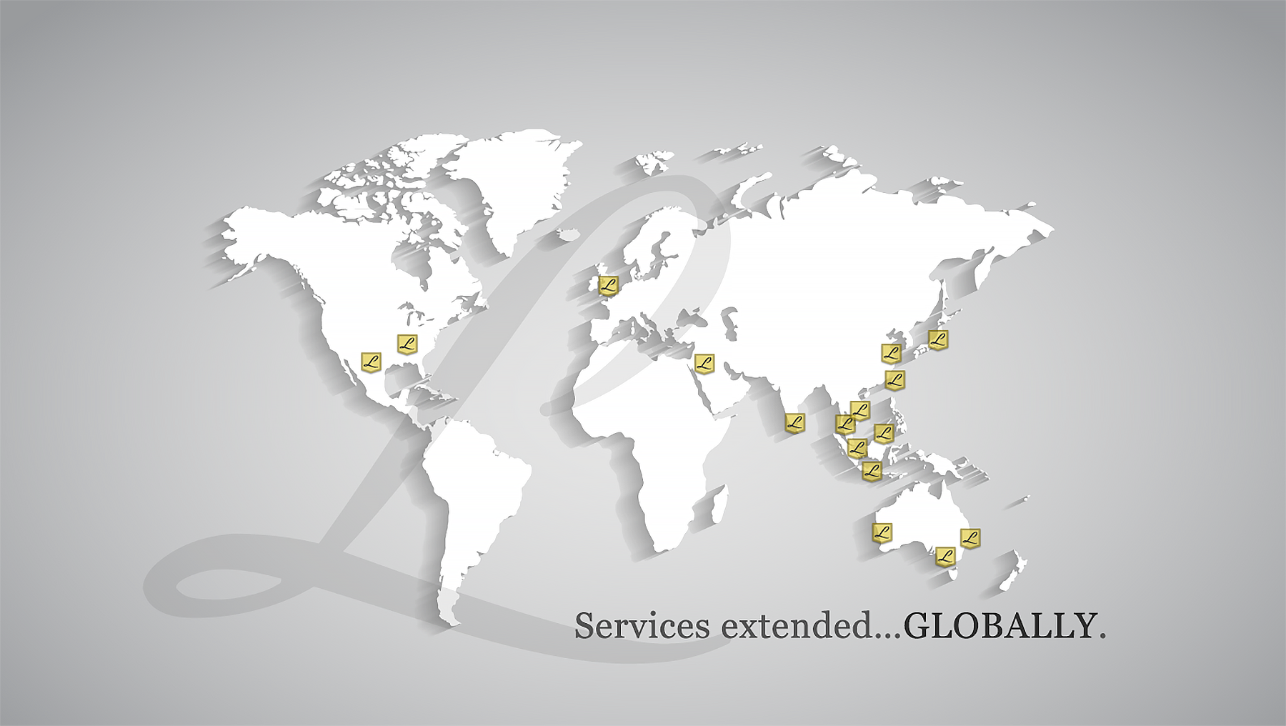 Banner – Services Extended Globally