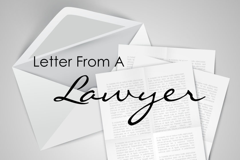 Letter From A Lawyer